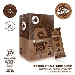 DISPLAY C 12 BARRA PROTEICA CHOCOLATE MALTADO 480G