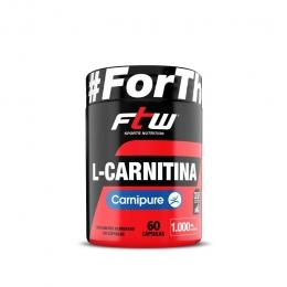 L-CARNITINA CARNIPURE FTW 500mg - 60 CÁPS