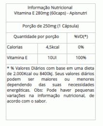 Vitamina E 250mg Oil (60 Caps)